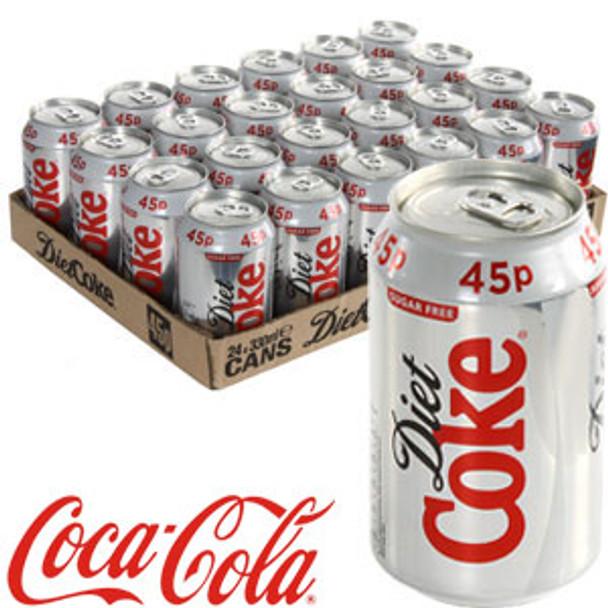 Coca Cola® Diet Coke - 355ml Cans x 24 Pack