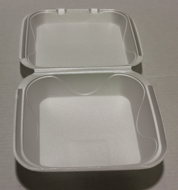 Darnel - QS1 - White Foam Hinged Container  - 200/case