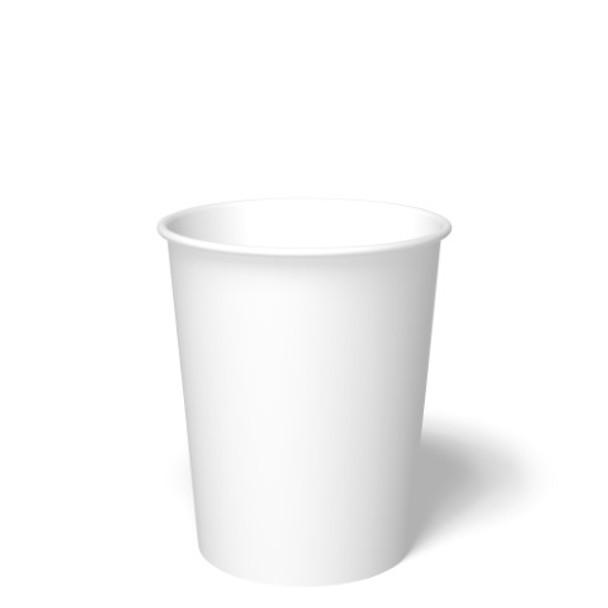 International Paper - DFR-32 - 32 oz Carte Blanc (White), Paper Food Container - 500/cs