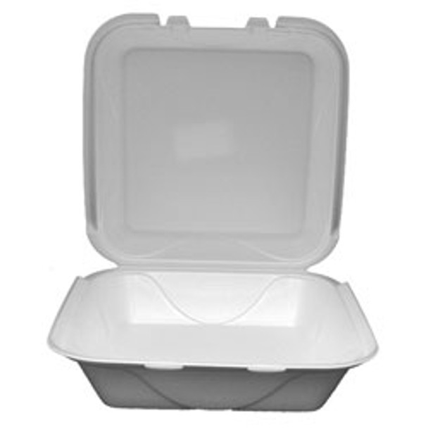 Darnel - S1 - White Foam Hinged Container - 200/case