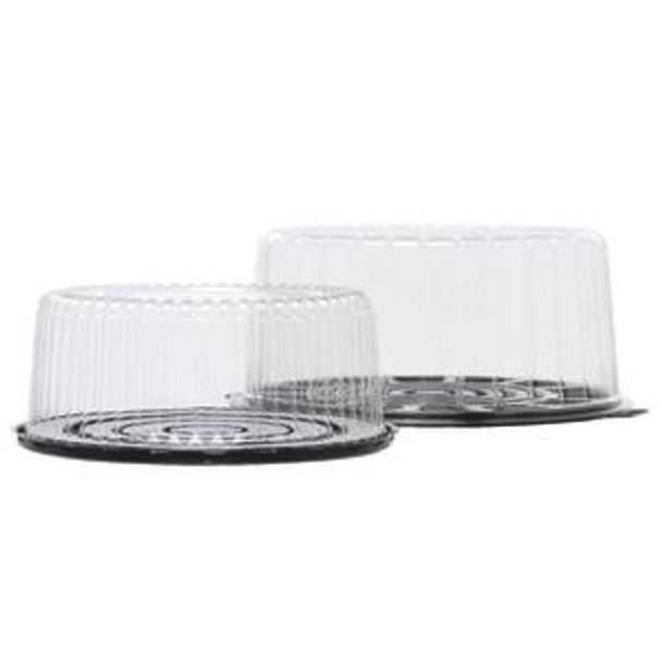 """D&W - G25 - 9"""" 1-2 Layers Cake Dome Combo - 100/Case"""