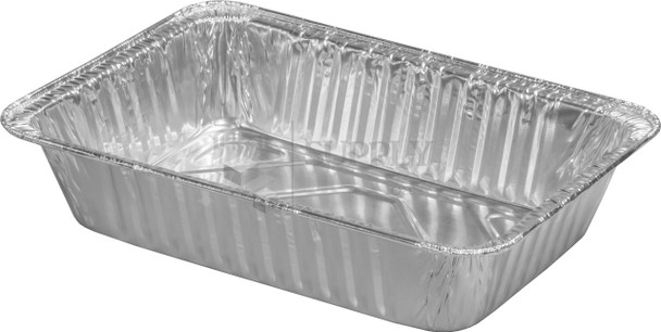 HFA - 363-30-200 - 2 1/4 LB Oblong Aluminum Container - 200/cs