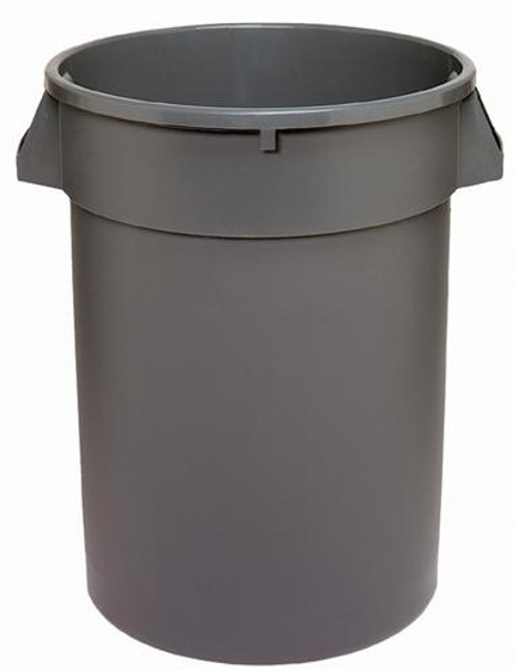 Dynapak - 32 Gallon Grey - Dyna Round Waste Container - 1 Unit/Each