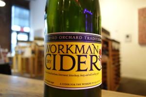 """Redbyrd Orchard Cider """"Workman"""" Dry Cider"""