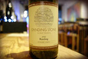 Standing Stone Vineyards, Finger Lakes Riesling 2015