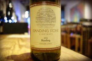 Standing Stone Vineyards, Finger Lakes Riesling 2015