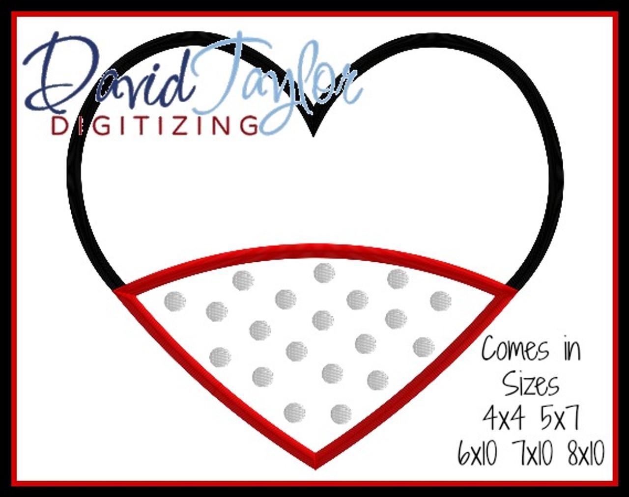 valentine miss mouse heart 2 versions applique embroidery design valentine embroidery designs