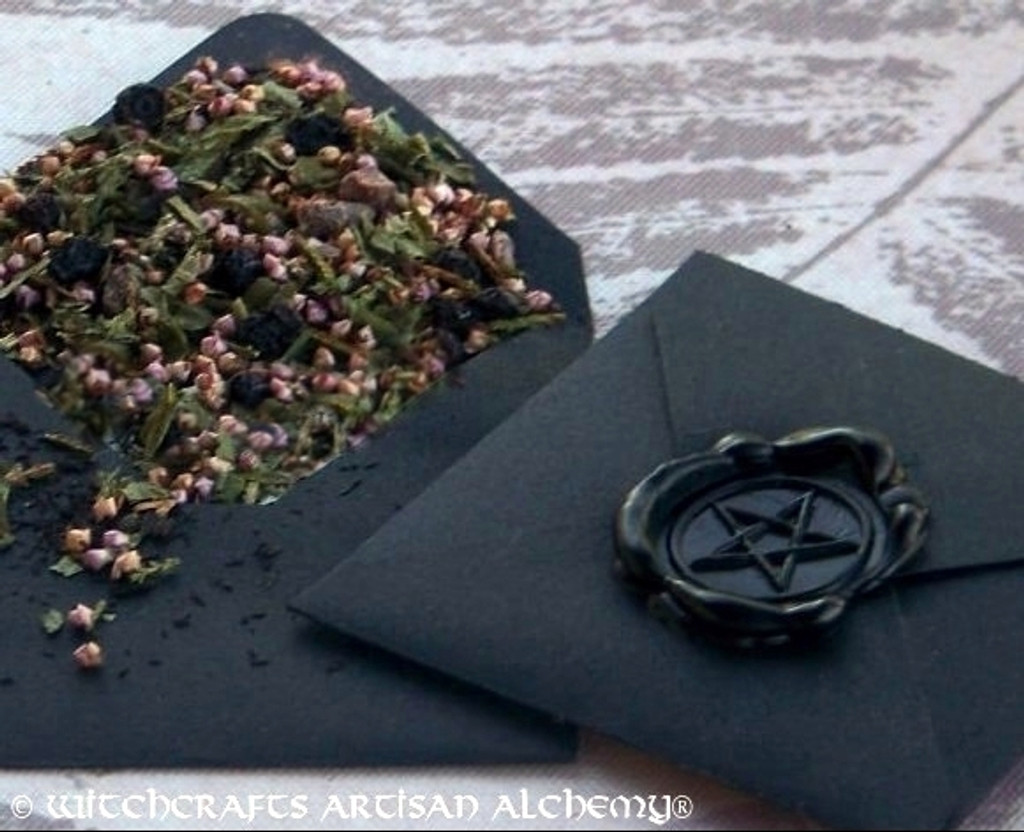 "WITCH'S SHIELD ""Spirit of Magic"" Herb Loaded Envelope Packet Herbal Blend"