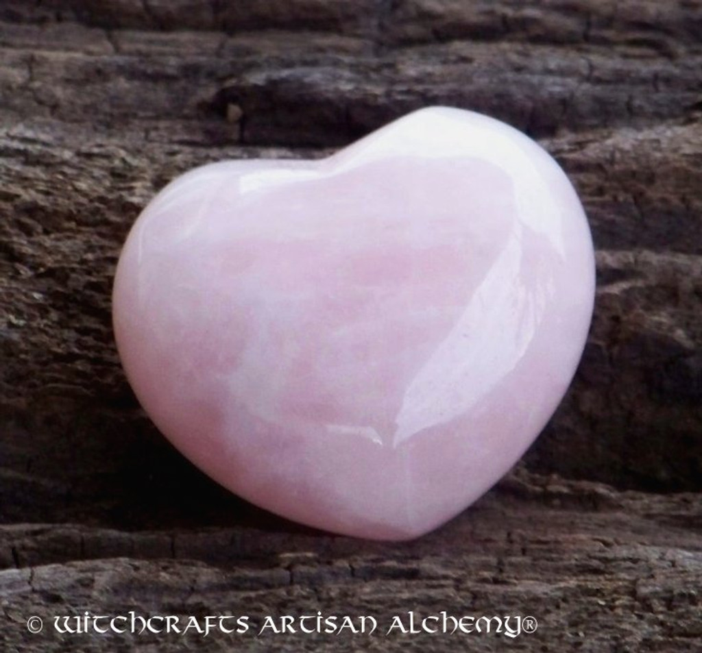 AMOUR Rose Quartz Gemstone Heart