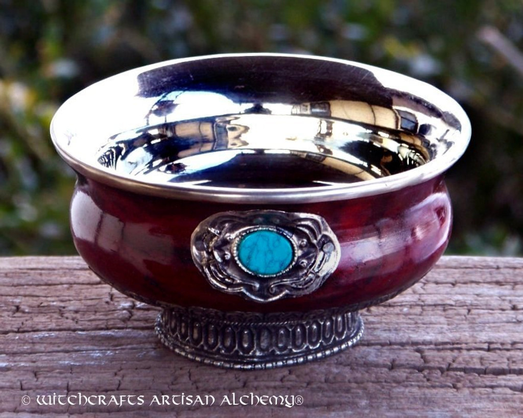 SORCERESS Ornate Gothic Altar Offering Bowl