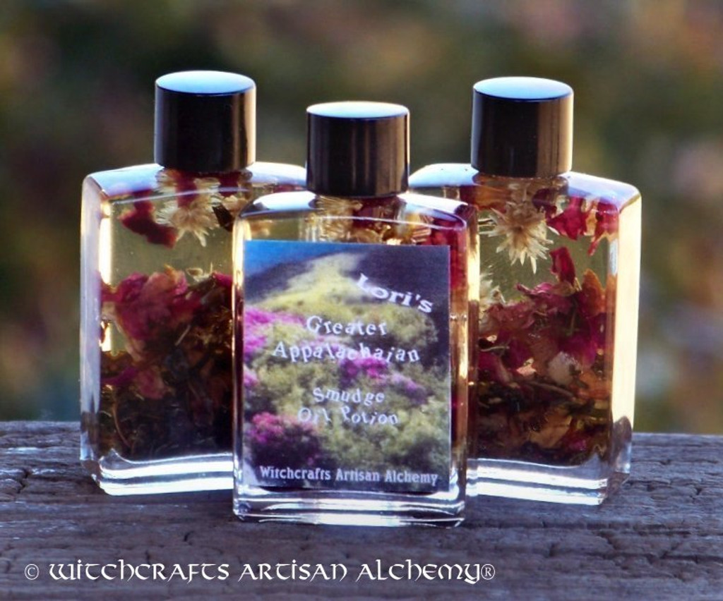 Lori's GREATER APPALACHIAN SMUDGE Oil Potion