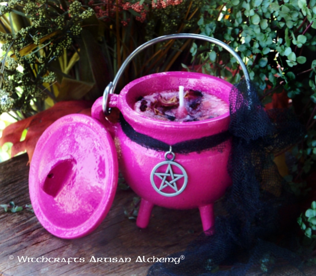 "OTHERKIN ""Old European Witchcraft"" Cauldron Candle"