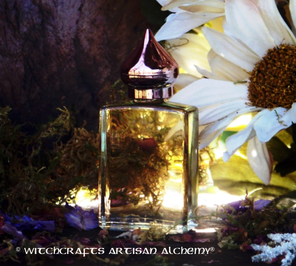 MYSTIC MOON Artisan Perfume Oil by Witchcrafts Artisan Alchemy