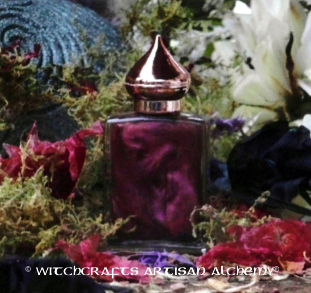 MORRIGAN Artisan Perfume Oil by Witchcrafts Artisan Alchemy