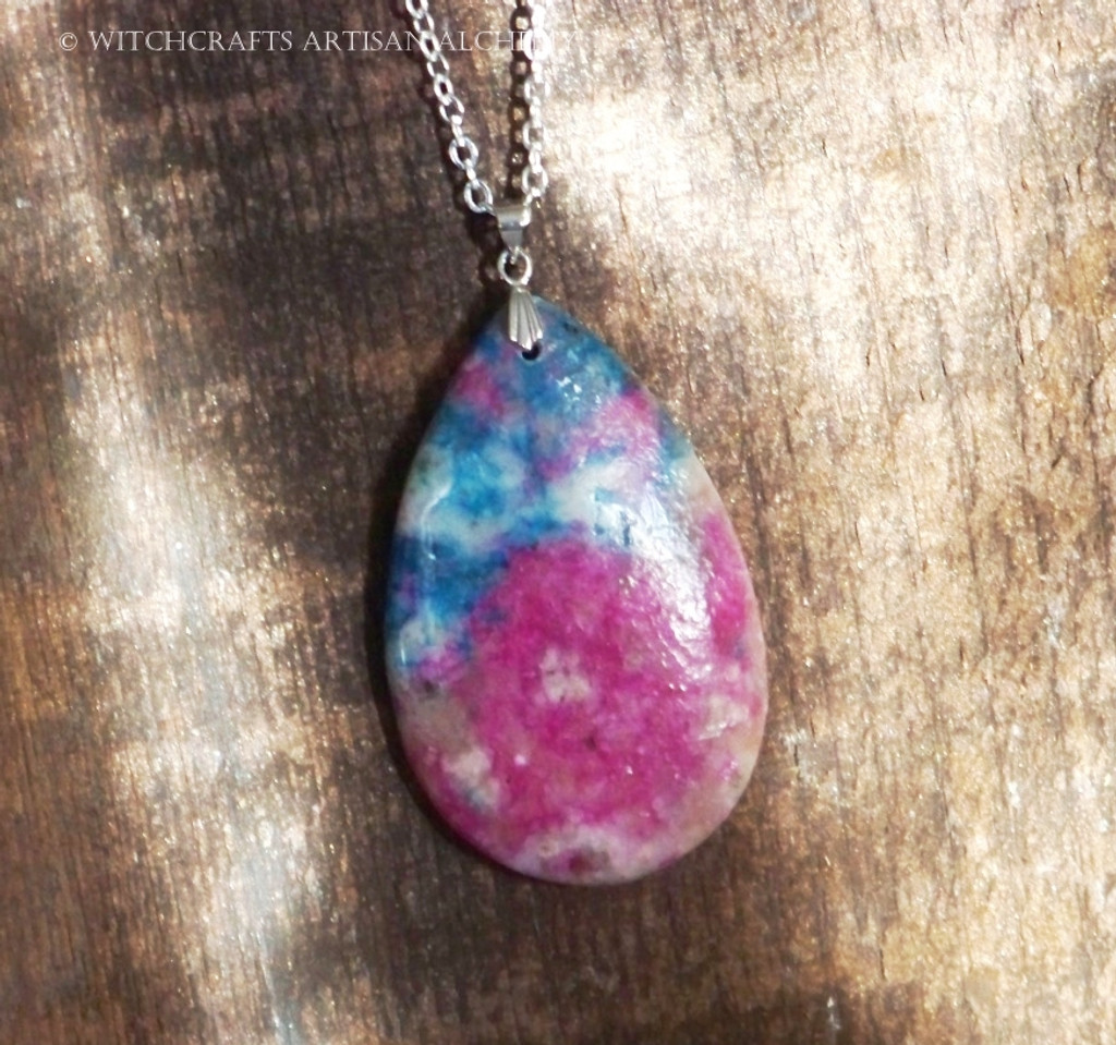 AINA Jasper Teardrop Pendant Necklace
