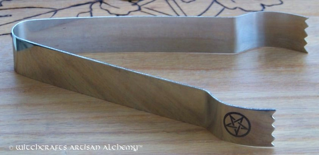 Pentacle Tongs for Charcoal