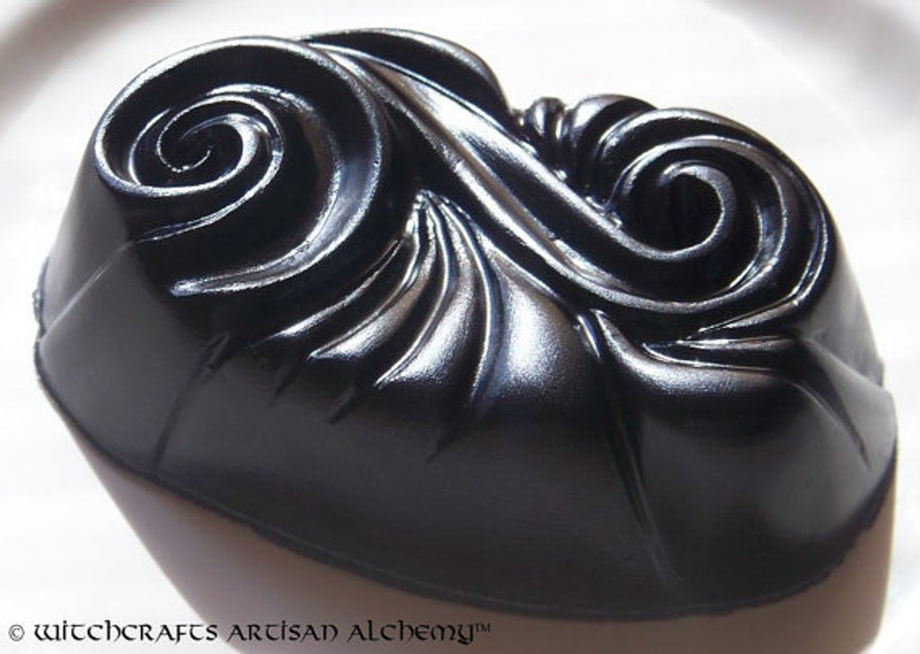 WITCHING HOUR Jet Black Shea Butter & Olive Oil Soap