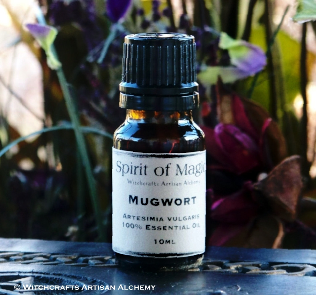 "MUGWORT (Artemisia vulgaris) ""Spirit of Magic"" 100% Pure Essential Oil"
