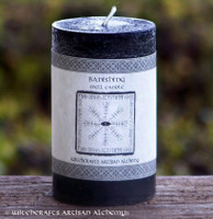 BANISHING Signature Spell Candle by Witchcrafts Artisan Alchemy