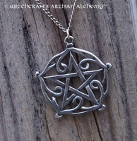 Pentagram of Brisingamen Pendant Necklace