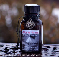 FLYING WITCH Artisan Alchemist Old European Witchcraft Ritual Oil