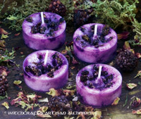 WITCH'S BLACKBERRY BREW Artisan Tealight Candles