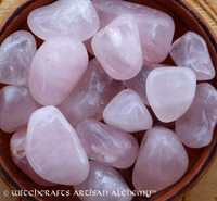 ROSE QUARTZ Tumbled Gemstones