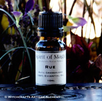 "RUE (Ruta graveolens) ""Spirit of Magic"" 100% Pure Essential Oil"