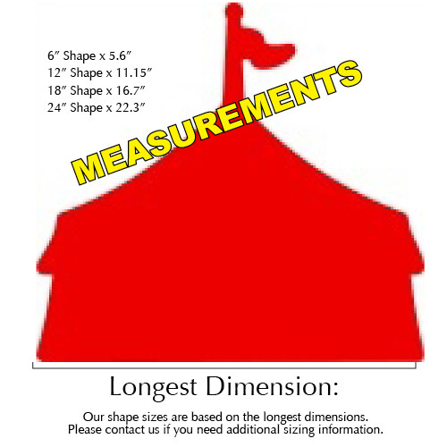 ... Circus Tent Unfinished Cutout Wooden Shape Paintable MDF DIY Craft ...  sc 1 st  Build-A-Cross & Circus Tent Unfinished Cutout Wooden Shape Paintable MDF DIY ...