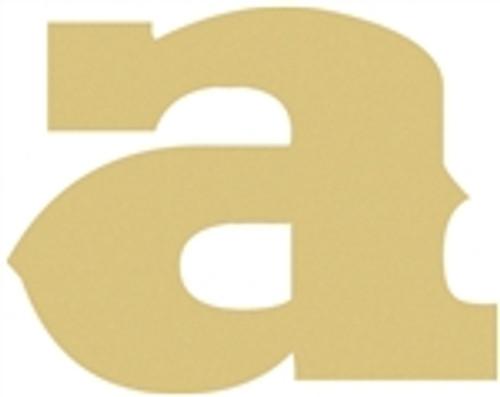 Wooden Lowercase Alphabet Letters Wall Decor Unfinished Craft Saddlebag