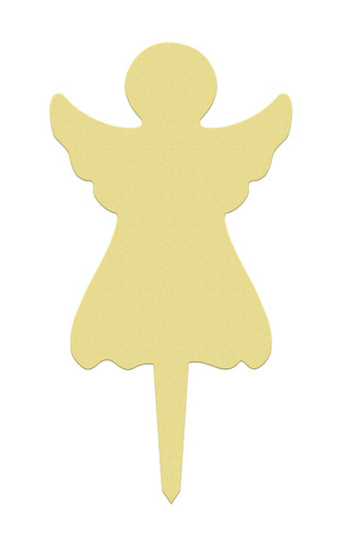 Unfinished outdoor DIY wooden yard art pattern christmas angel sign