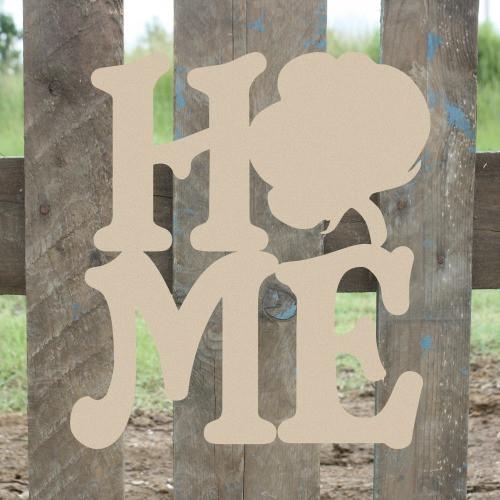 Home Cotton Sign Wall Art Wooden DIY Craft MDF