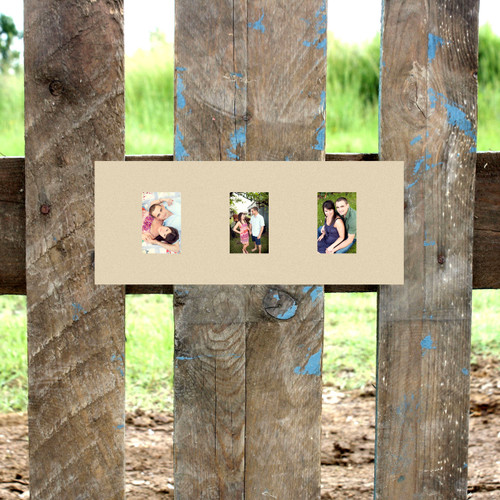 3 Rectangle Picture Frame Unfinished, DIY