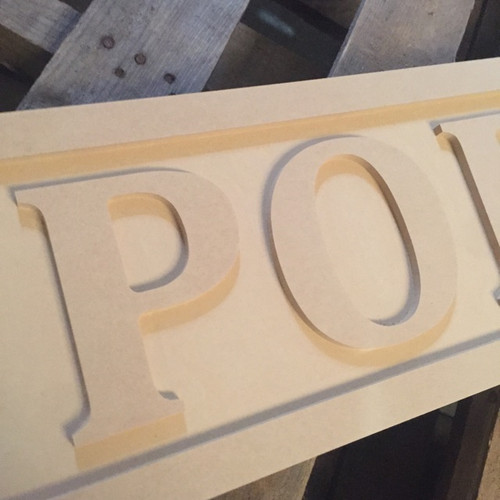 Engraved Wooden Sign 8'' x 31'' Porch