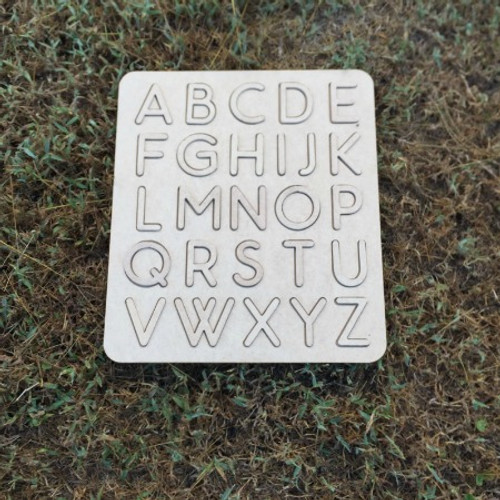 Alphabet Learning Puzzle, Unfinished Puzzle