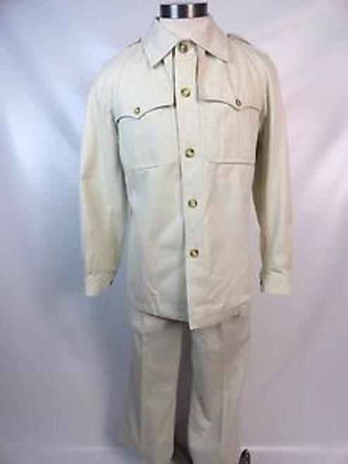 Vintage 60's Yves Saint Laurent Safari Suit