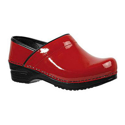 Sanita - Professional Patent - Red Leather