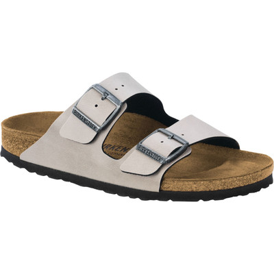 Birkenstock - Arizona Sandal - Stone Pull Up - Birko Flor