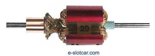 Koford .510 Dia Group 20 Armature 44° - KOF-M468-20-44