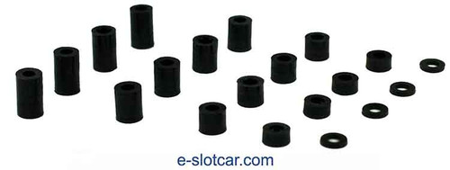 H&R Assorted Plastic 1/8 Axle Spacers - HR-601