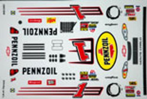 No  1 - 1/24 Pennzoil Chevy - Grafixx - GRFX-312401