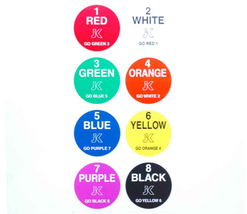 JK Lane Stickers 10 pack - JK-150