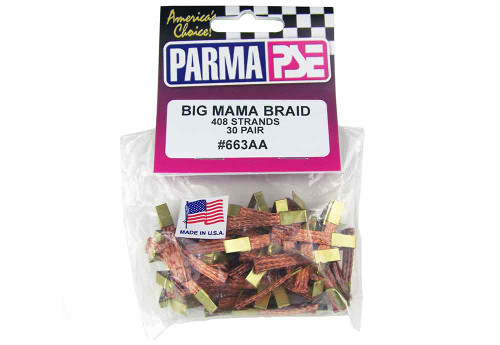 Parma Big Mama Braid - 30 pr pack  - PAR-663AA