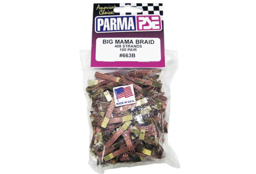 Parma Big Mama Braid - 100 pr pack - PAR-663B