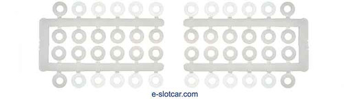 PCH 1/8 Axle Spacers  - PCH-5040