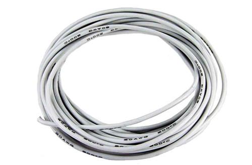 PCH Premium 20 Gauge Leadwire - 10 Ft - White - PCH-2120