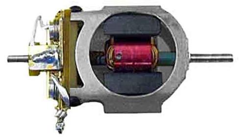 Koford Ultra 12 Motor w/Double Bearings, Shunts & 40° Armature - KOF-M527G