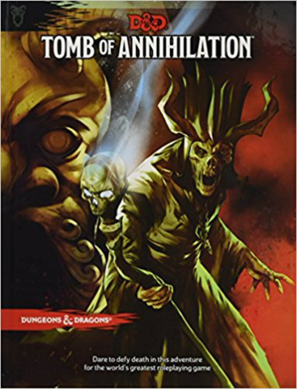 Dungeons & Dragons 5th Edition RPG: Tomb of Annihilation (Hardcover)