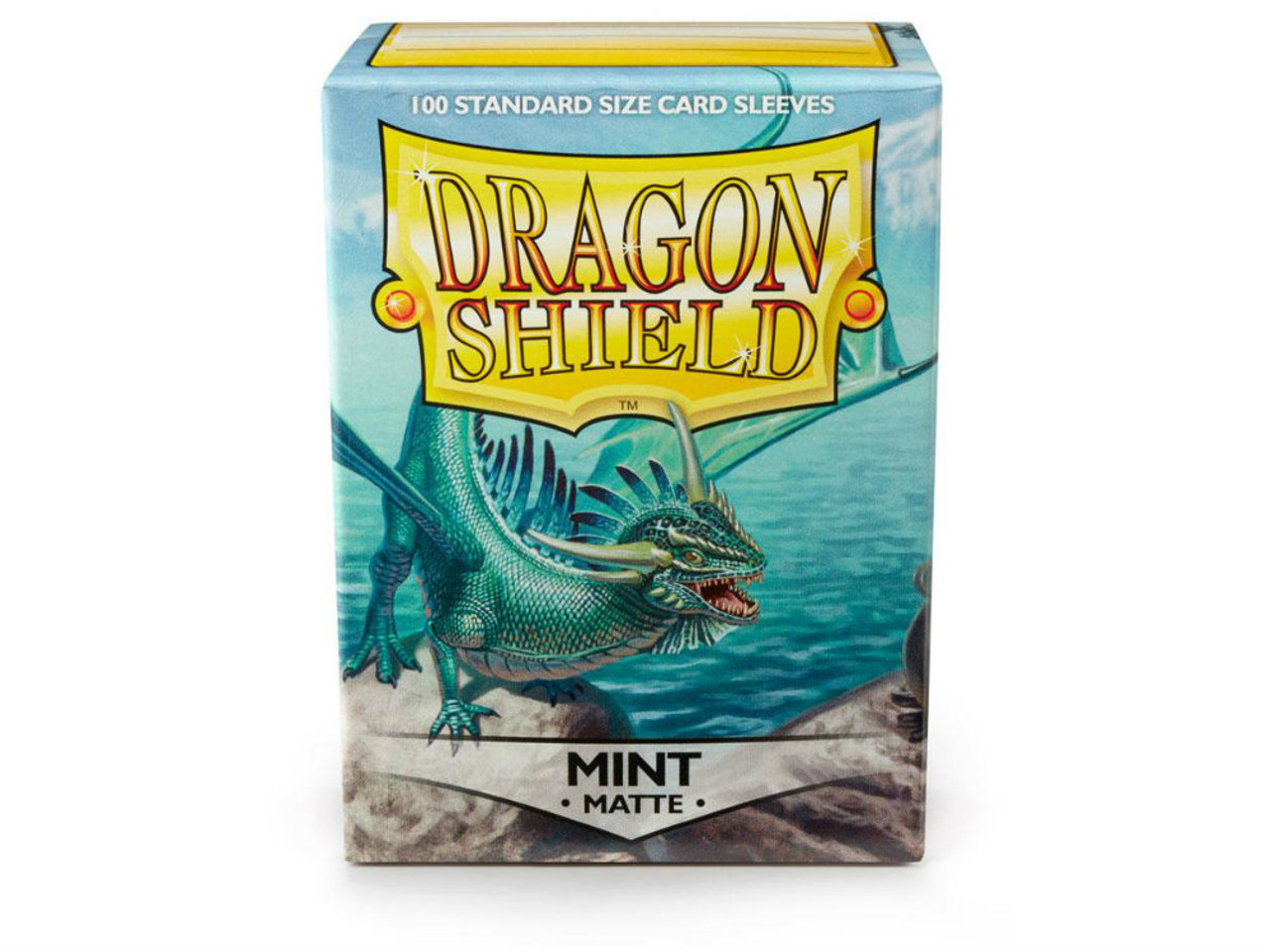 Dragon Shield Card Sleeves: Matte Mint (100)