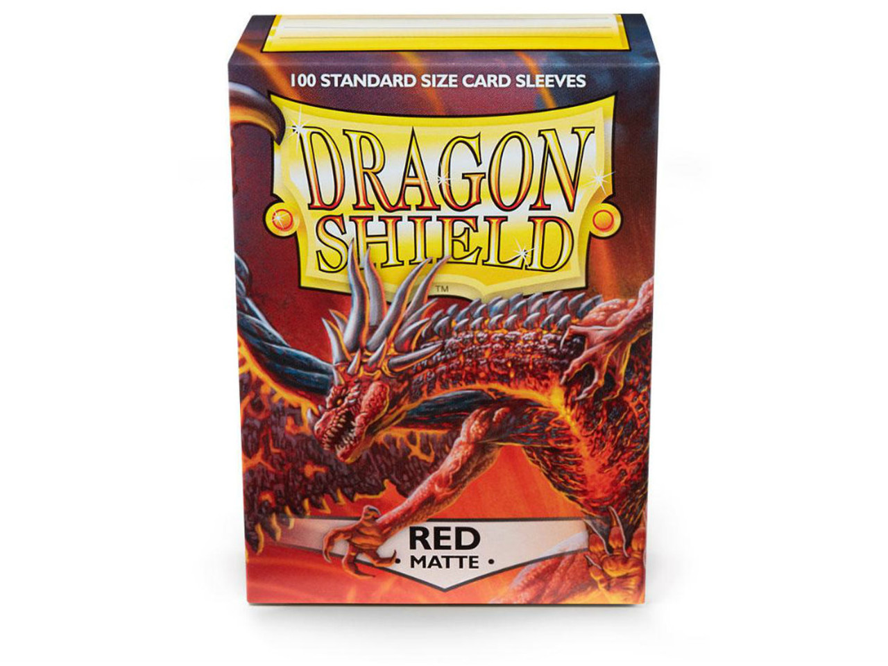 Dragon Shield Card Sleeves: Matte Red (100)